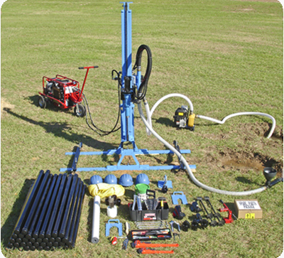 water well drill rig package